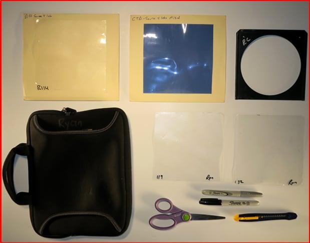 Corporate Lighting Gel Kit Rosco CTB 202