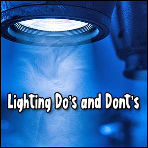 Lighting Dos and Don'ts
