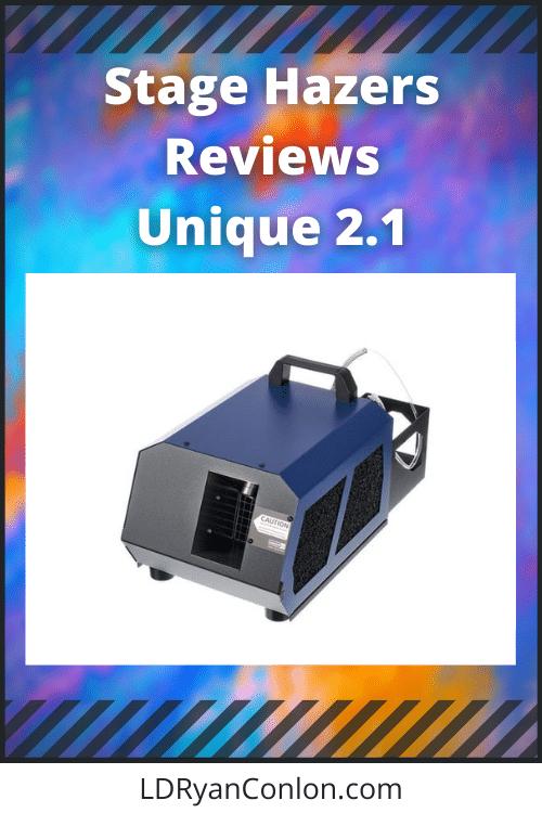 Stage Hazer Reviews Unique 2.1