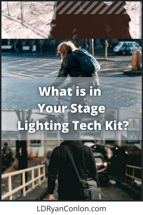 What is in your stage lighting tech kit small pin